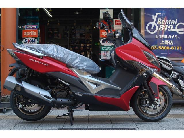 KYMCO エキサイティング400i ABS 最新型の画像(東京都