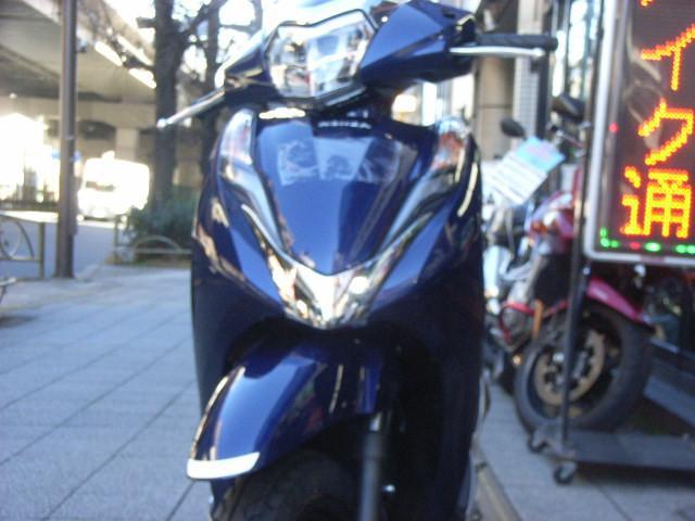 ホンダ リード125 ツートーン 最新型の画像(東京都