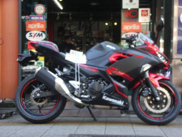 カワサキ Ninja 250 ABS 最新型の画像(東京都