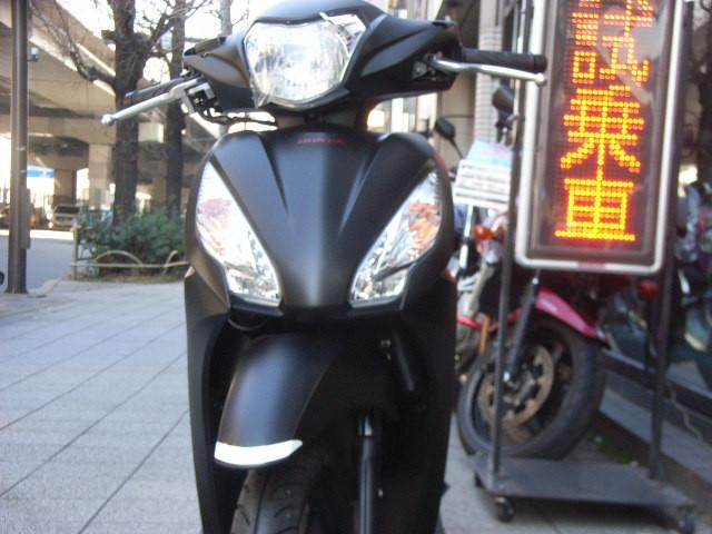 ホンダ Dio110 最新型の画像(東京都