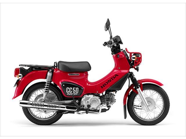 ホンダ クロスカブ50 最新型の画像(東京都