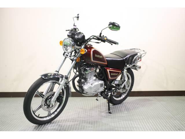 スズキ GN125-2F セル・キック併用の画像(神奈川県