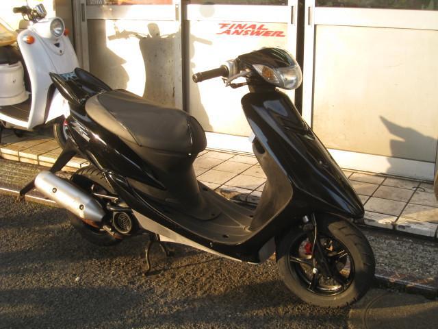 ヤマハ JOG ZR ノーマル SA16J ブラックの画像(東京都