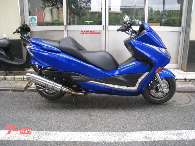 フォルツァ・Z マフラー MF10 ブルー