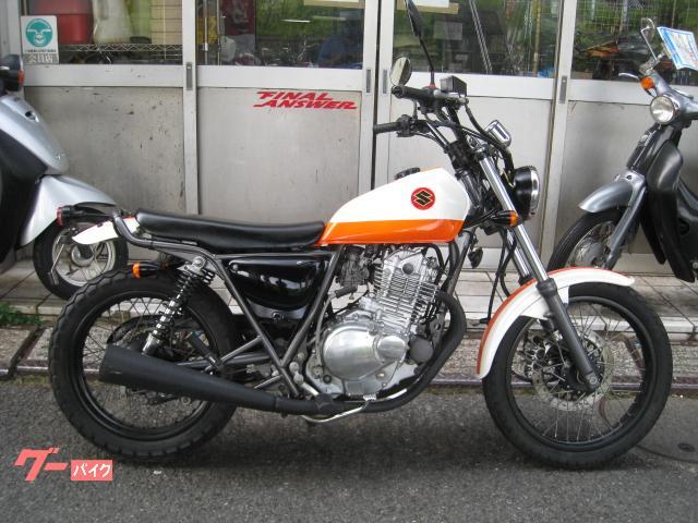 グラストラッカー ノーマル NJ47A ホワイトオレンジ