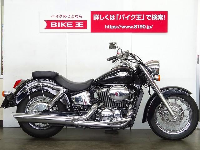 ホンダ シャドウ400 サドルバックサポート付の画像(埼玉県