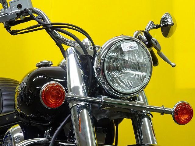 ヤマハ ドラッグスター400クラシック 17年モデル 1オーナー 未使用カスタムマフラーの画像(埼玉県
