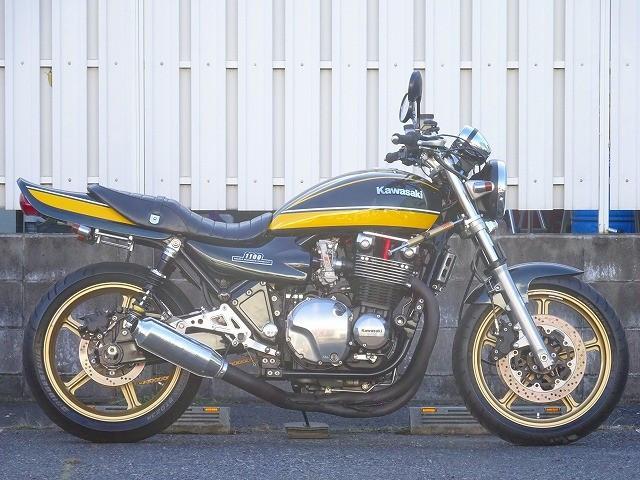 カワサキ ZEPHYR1100 FCRキャブ MAGTUNホイール QUANTUMサスの画像(埼玉県
