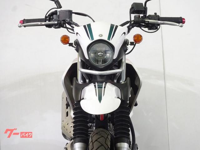 ヤマハ セロー250 2008年モデル グリップヒーター リアキャリア装備の画像(千葉県