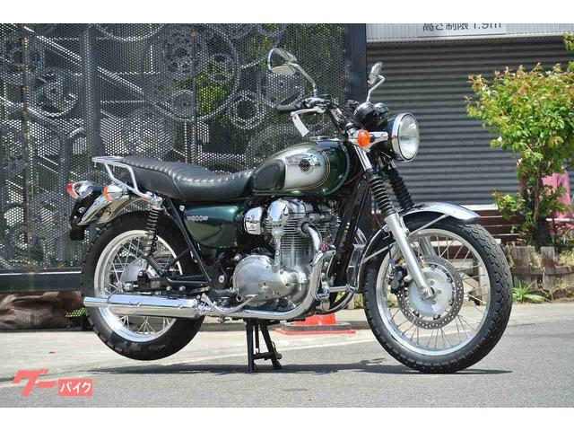カワサキ W800 グリップヒーター エンジンガード リアキャリアの画像(神奈川県