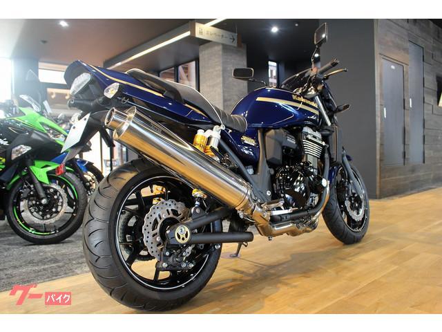 カワサキ ZRX1200 DAEG メタリックノクターンブルー オーリンズの画像(神奈川県