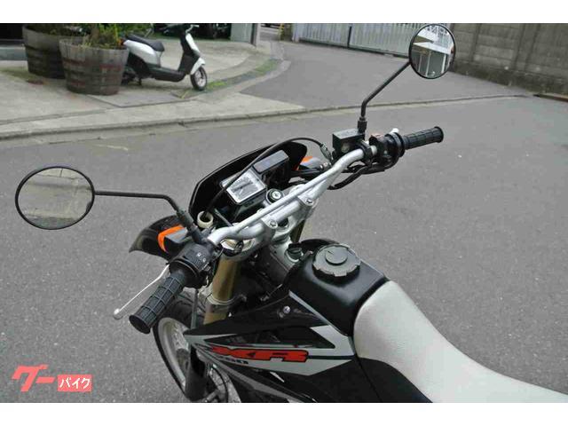 ホンダ XR250 モタード 社外マフラー フェンダーレスの画像(神奈川県