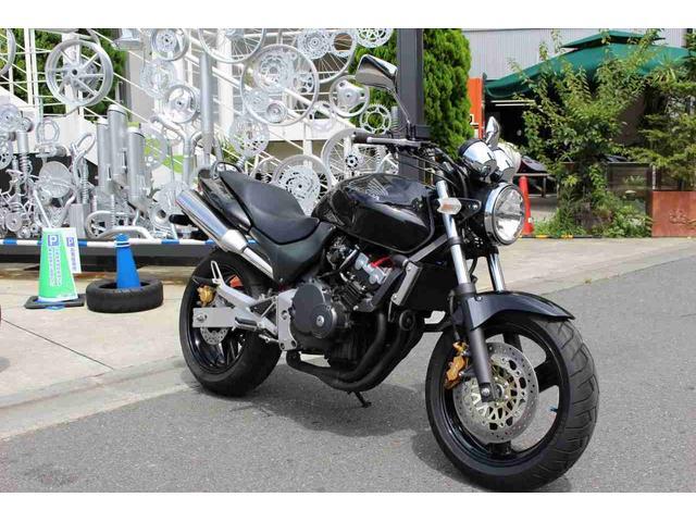 ホンダ HORNET グリップヒーター アラーム装備の画像(神奈川県