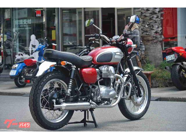 カワサキ W650 エンジンガードの画像(神奈川県