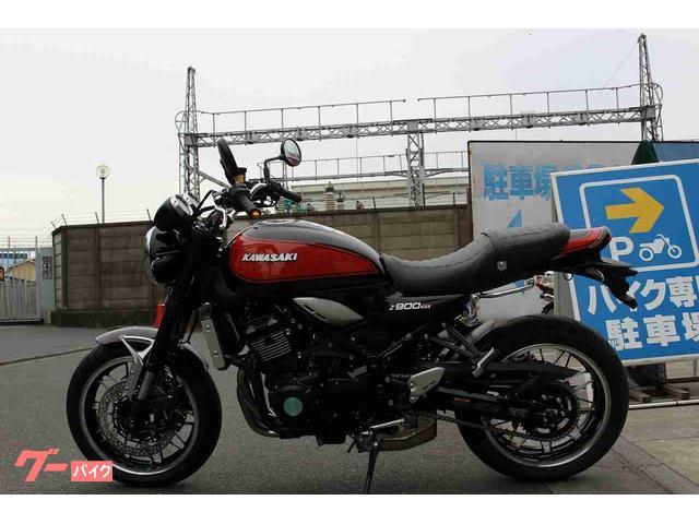 カワサキ Z900RS ハンドルカスタムの画像(神奈川県