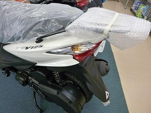 スズキ アドレスV125S ホワイトの画像(茨城県