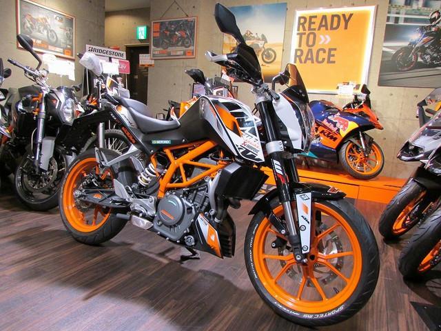 KTM 390デュークの画像(東京都