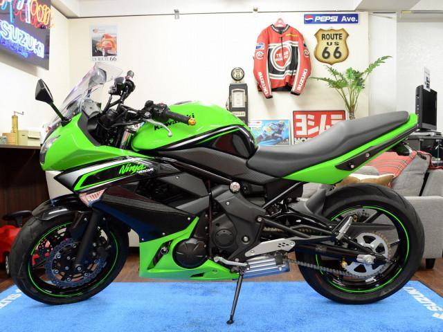 カワサキ Ninja 400R ETC車載器付き リヤフェンダーレスキットの画像(東京都