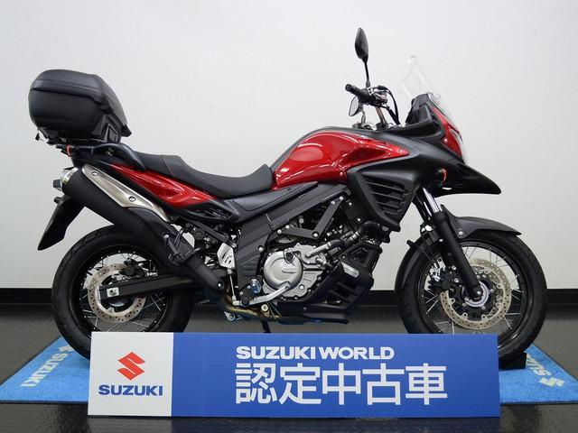 スズキ V-ストローム650XT スズキワールド認定中古車 トップケース付きの画像(東京都