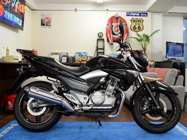 スズキ GSR250 リアキャリア ヘルメットロック付の画像(東京都