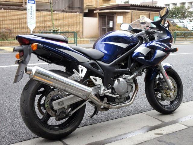 スズキ SV400Sの画像(東京都