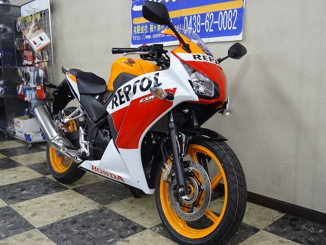 ホンダ CBR250R ABS  レプソル '14の画像(千葉県