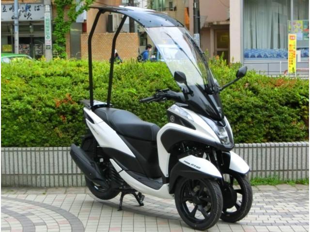 ヤマハ トリシティ155 ルーフキット装着 正規 新車の画像(東京都