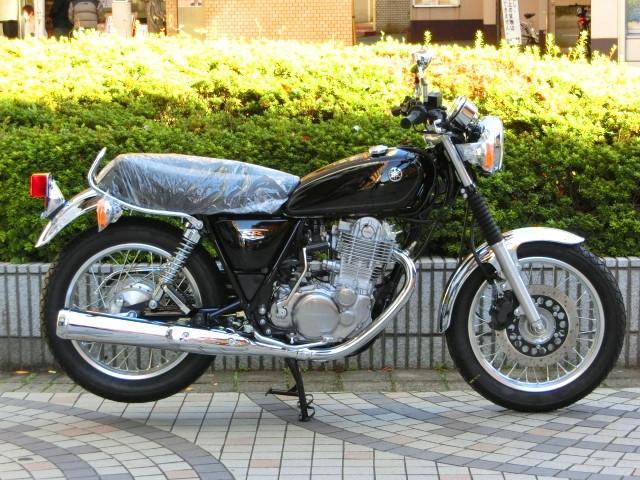ヤマハ SR400 現行モデル 正規 新車の画像(東京都