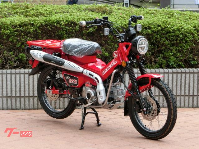 CT125ハンターカブ 日本仕様 正規 新車 レッド