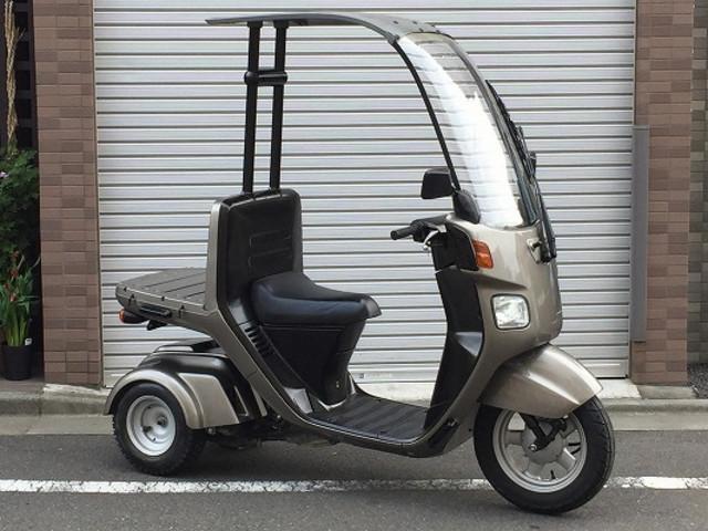 ジャイロキャノピー 4サイクル 全塗装済み リアタイヤ新品付き
