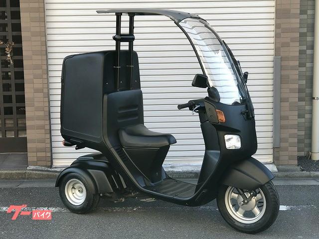 ジャイロキャノピー 全塗装済 リアボックス付き タイヤ前後新品