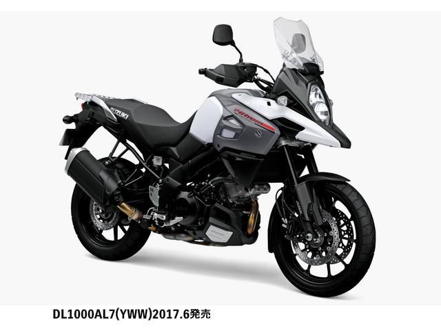 スズキ V-ストローム1000 2017年モデル マイナーチェンジの画像(東京都