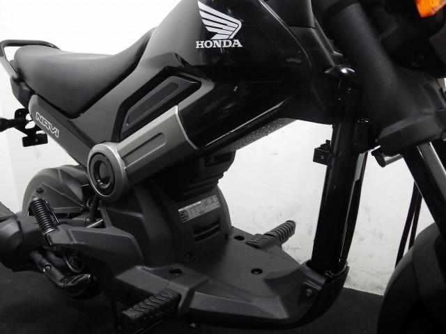 ホンダ NAVI110 本国仕様 キャブスクーター ブラックの画像(千葉県
