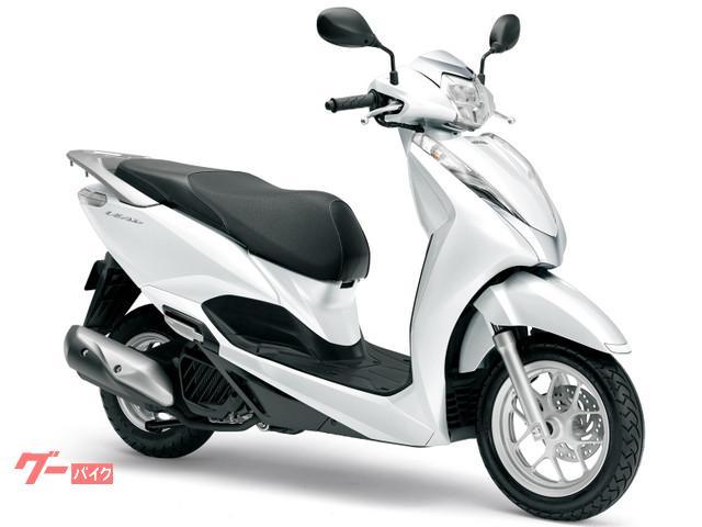 リード125 国内最新モデル 単色ホワイト