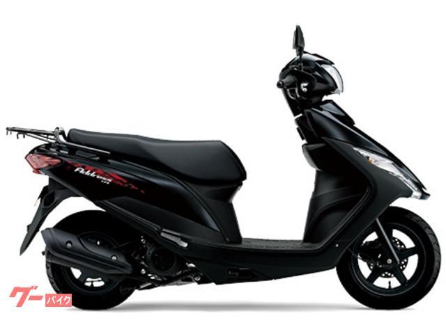 アドレス125 国内M0モデル ブラック