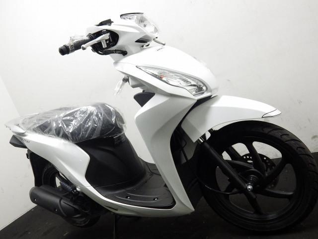 ホンダ Dio110 国内最新モデル ホワイトの画像(埼玉県