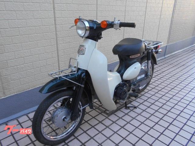 ホンダ リトルカブ グリーン FI車の画像(埼玉県