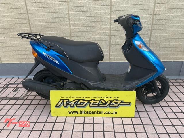 アドレスV125G ブルー FI