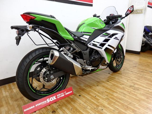 カワサキ Ninja 250 ABS バックサポート付の画像(埼玉県
