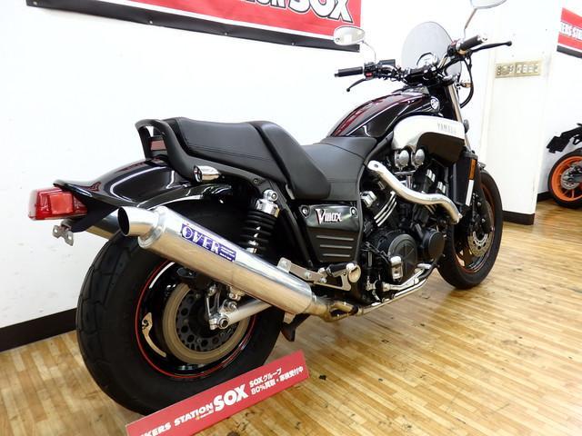 ヤマハ VMX1200 OVERマフラーの画像(埼玉県