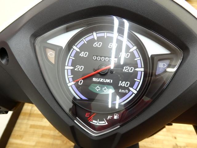 スズキ アドレス110 新車の画像(埼玉県