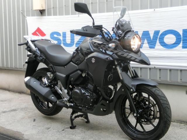 スズキ V-ストローム250 ニューモデル パールネブラーブラックの画像(千葉県
