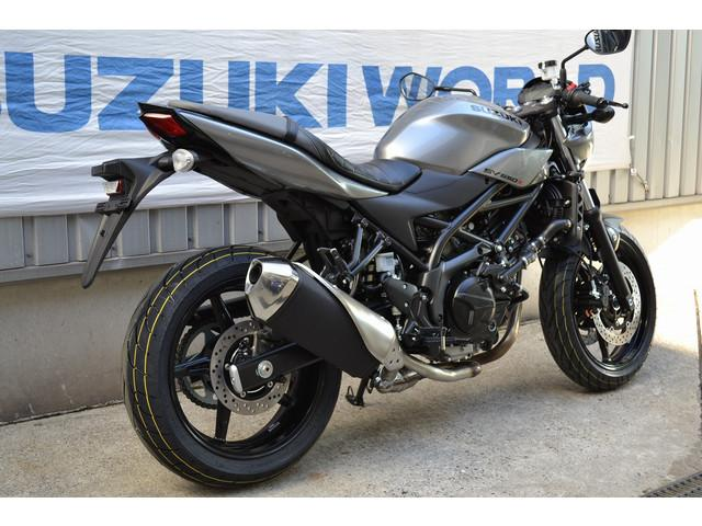 スズキ SV650X ABS オールドグレーメタリックNo.3の画像(千葉県