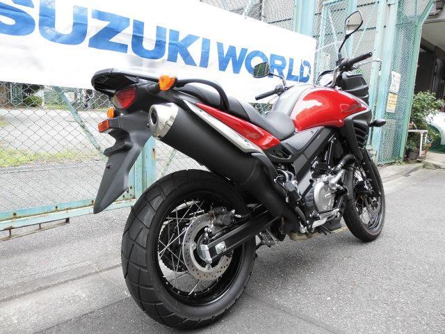 スズキ V-ストローム650XT ABS スズキワールド認定中古車の画像(東京都