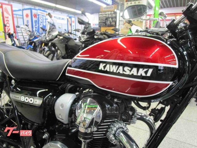 カワサキ W800 オリジナルカラーの画像(神奈川県