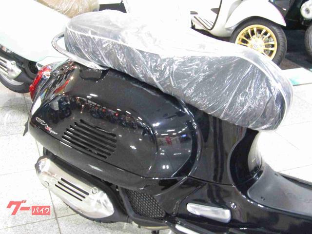 VESPA GTSスーパー150 スーパー バルカンブラック 正規輸入の画像(神奈川県