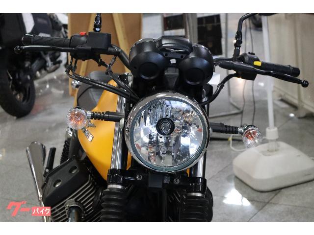 MOTO GUZZI V7IIストーン  純正色 カスタムマフラーの画像(神奈川県