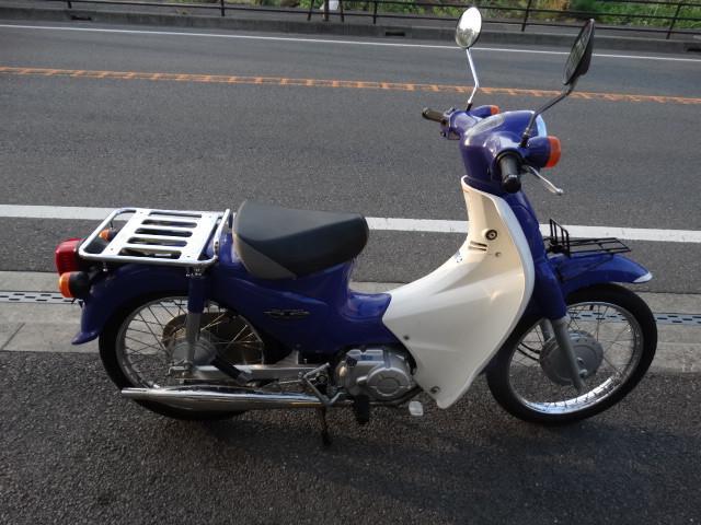 ホンダ スーパーカブ110 国内生産の画像(神奈川県