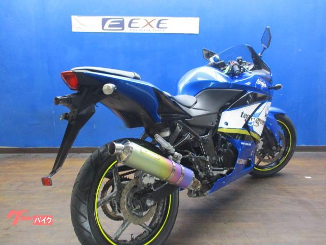 カワサキ Ninja 250R モリワキサイレンサー・左右レバーの画像(埼玉県