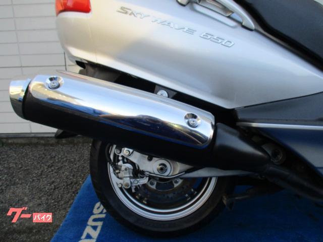 スズキ スカイウェイブ650LXの画像(福島県